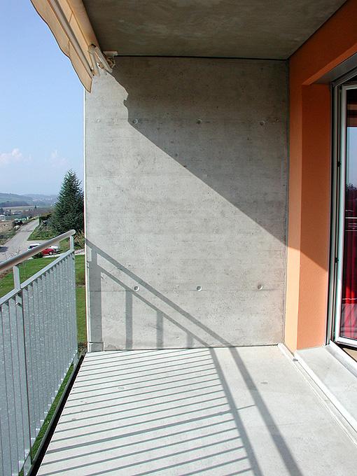 Exemple d'une façade Ouest
