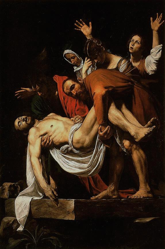 Caravaggio – mise au tombeau